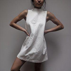 H&M White Tunic-style Dress
